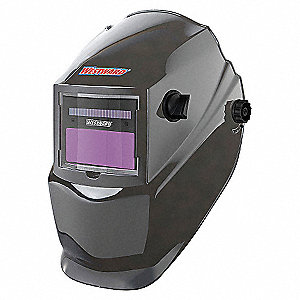 WELDING HELMET SHADE 4 9-13 GRAY