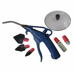 AIR GUN KIT PISTOL GRIP BLUE