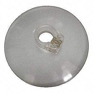 CHIP SHIELD PLASTIC 4 IN DIA