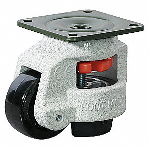 LEVELING CASTER 1102 LB 2-1/2 IN.