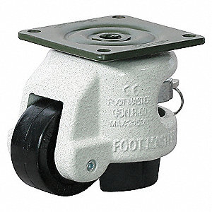 LEVELING CASTER 551 LB 2 IN.