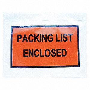 PACKING LIST ENVELOPE 5-1/2X7 PK250