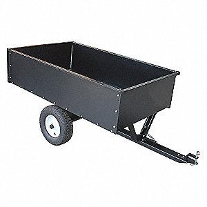 Dump Cart,17 cu.ft.,1500 lb.,Pneumatic
