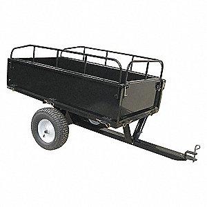 Dump Cart,17 cu.ft.,1000 lb.,Pneumatic
