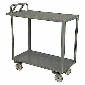 Ergonomic Shelf Truck,1200 lb,Steel,54in