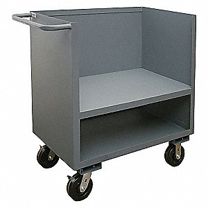 Utility Cart,2000 lb.,Steel,42 in.