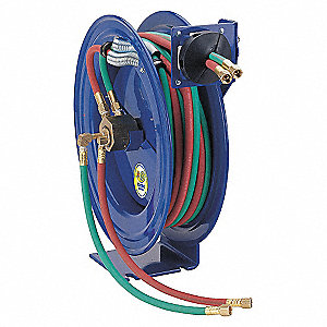 REEL WELDING 1/4INX50FT LESS HOSE
