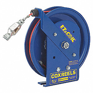REEL GROUNDING 35FT S/S CABLE