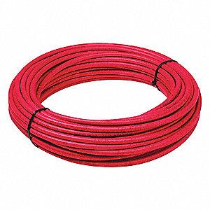 TUBING AIR BRAKE NYL 3/8 RED 100FT