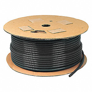TUBING AIR BRAKE NYL 1/8 BLK 1000FT