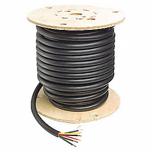 CABLE TRAILER PVC 6COND 16GA 100FT