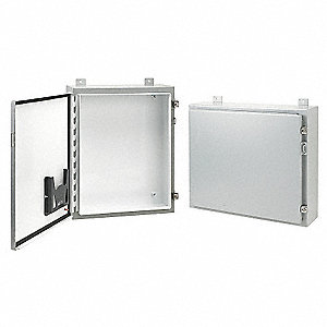 "36.00"" x 30.00"" x 12.00"" Carbon Steel Enclosure"