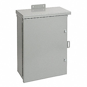 "24.00"" x 24.00"" x 8.00"" Carbon Steel Junction Box Enclosure"