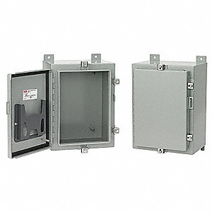 "30.00"" x 24.00"" x 10.00"" Carbon Steel Junction Box Enclosure"