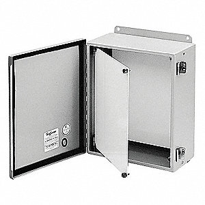HOFFMAN Panel Kit, Steel, For Use With: Junction Box and Wall-Mount on frank adams electrical panels, murphy electrical panels, square d electrical panels, zinsco electrical panels, white electrical panels, aluminum electrical panels, walker electrical panels,