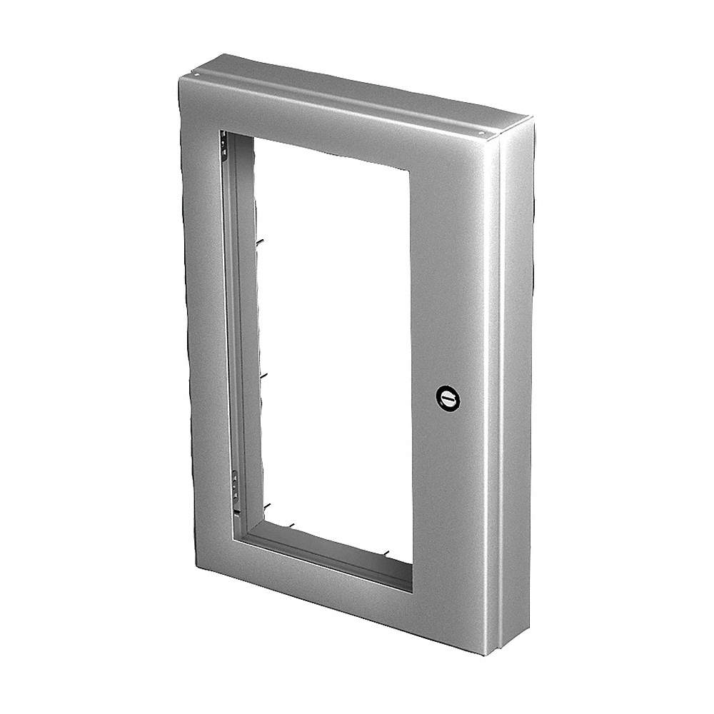 HOFFMAN Enclosure Window Kit, Stainless Steel, 22.19\