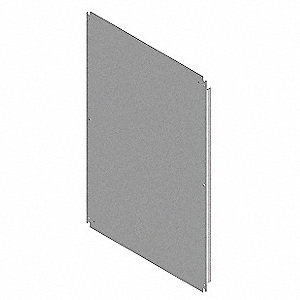 "Interior Panel, Steel, White Finish, For Use With: 12""H x 12""W Concept  Style Enclosures"
