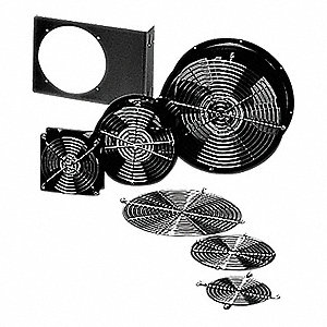 Square Axial Fan, 230VAC Voltage