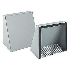 "16 ga.Mild Steel Fan Shroud Kit, For Use With 6"" Compact Cooling Fans"