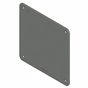 Steel Wireway Closure Plate for Hoffman F22 Series Wireways