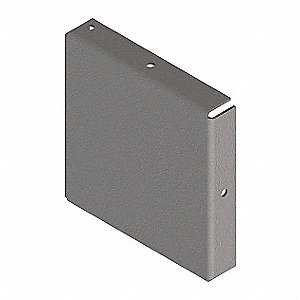 Steel Wireway Closure Plate for Hoffman F44 Series Wireways