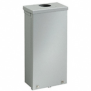 Terminal Box,23in.H,12in.W,4.5 in.D,Wall