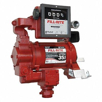 32GG93 - AC Pump with Meter Diesel Transfer 3/4