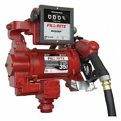 32GG94 - AC Pump with Meter Diesel Transfer 3/4