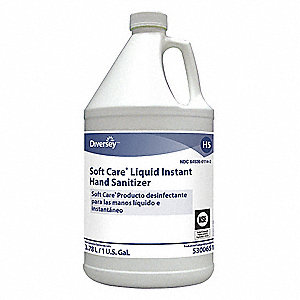 1 gal. Hand Sanitizer Jug, None, 4 PK