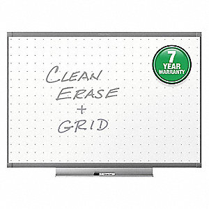 "Dry Erase Board,Wall Mounted,48""x72"""
