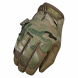 Tactical Glove, 2XL, MultiCam, 10inL, PR