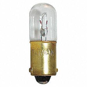 LAMP T3-1/4, MINIATURE BAYONET (BA