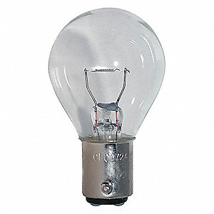 LAMP S11, DC BAYONET (BA15D), 6.2V