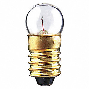LAMP G3 1/2 M SCREW 1.3V .1A .03CP
