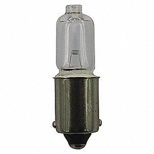 LAMP T2-3/4 BA9S 6V 12W 19CP