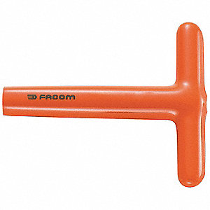 17.0mm Alloy Steel Nut Driver, Orange
