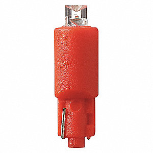 LAMP 12.8V WEDGE RED
