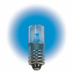 LAMP 6.3V E10 BLUE