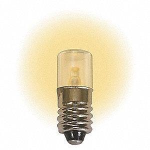 LAMP 6.3V E10 WARM WHITE