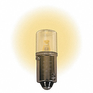 LAMP 160V BA9S WARM WHITE