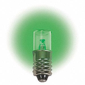 LAMP 12.8V E10 GREEN