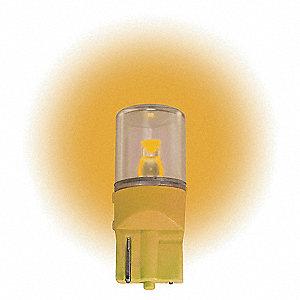 LAMP 12.8V WEDGE AMBER