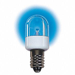 LAMP 6.3V E12 BLUE