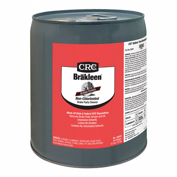 Crc Brake Cleaner And Degreaser Pail 5 Gal Flammable Non