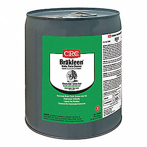 Brake Cleaner and Degreaser&#x3b;Pail&#x3b;5 gal.&#x3b;Non Flammable&#x3b;Chlorinated