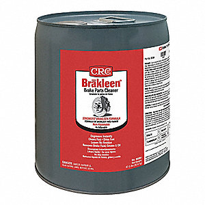 Brake Cleaner and Degreaser;Pail;5 gal.;Non Flammable;Chlorinated