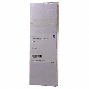 "18.11"" x 22.44"" Cellulose Chromatography Paper with 130mm/30 min. Flow Rate; PK100"