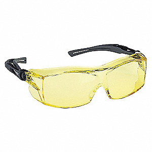 SAFETY GLASSES AMBER