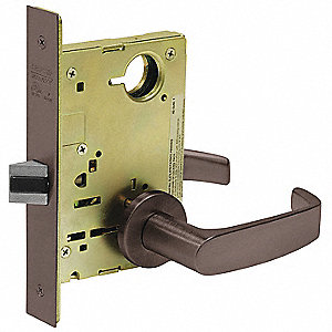 Lever Lockset,Mechanical,Passage,Grade 1