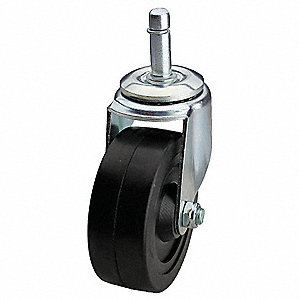 "3-1/2"" Light-Duty Swivel Stem Caster, 150 lb. Load Rating"